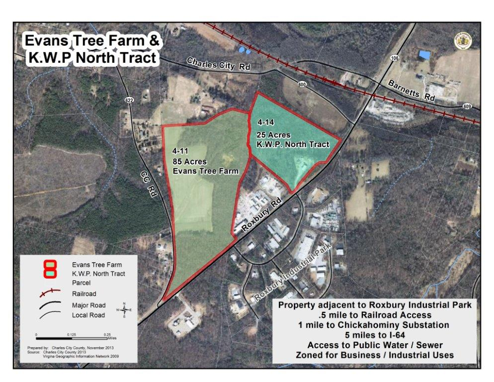 Evans Tree Farm and K.W.P. North Tract