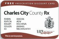 Charles City prescription Card Sample