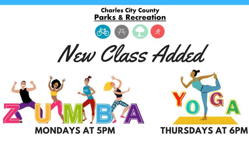 New Classes Added - Zumba-Yoga